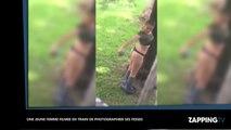 Une jeune femme surprise en train de photographier ses fesses, la vidéo coquine