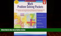 Big Deals  Math Problem-Solving Packets: Grade 5: Mini-Lessons for the Interactive Whiteboard With