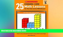 Big Deals  25 Common Core Math Lessons for the Interactive Whiteboard: Grade 5: Ready-to-Use,