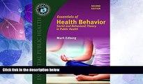 Big Deals  Essentials Of Health Behavior (Essential Public Health)  Best Seller Books Best Seller
