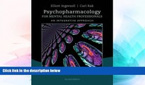 Big Deals  Psychopharmacology for Mental Health Professionals: An Integrative Approach  Free Full