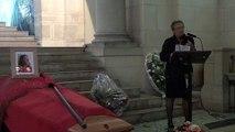 20160916-Paris-Obsèques de Jean-François Athon-03-Intervention de Françoise Lapierre Athon