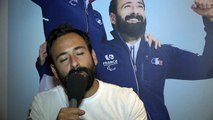 Michael Jeremiasz, Porte drapeau de l'équipe de France Paralympique remercie les supporters