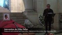 20160916-Paris-Obsèques de Jean-François Athon-01-Intervention de Gilles Tellier