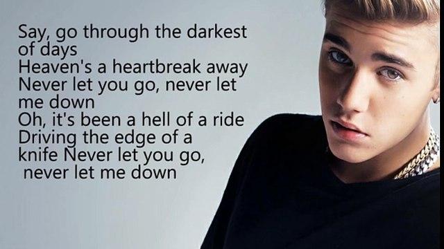 Dj Snake ft Justin Bieber - let me love you | lyrics song