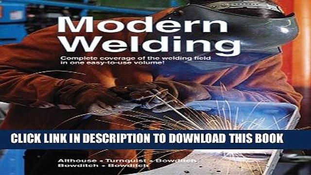 [PDF] Modern Welding Exclusive Full Ebook