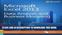 [PDF] Microsoft Excel 2013 Data Analysis and Business Modeling Full Collection