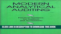 [Read PDF] Modern Analytical Auditing: Practical Guidance for Auditors and Accountants Ebook Free