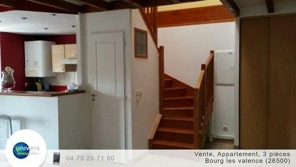 A vendre - Appartement - Bourg les valence (26500) - 3 pièces - 77m²