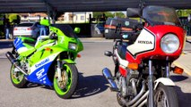 HONDA CBX 400 II Vs KAWASAKI ZXR 400 YEAR 1990 (VIDEO 4K)