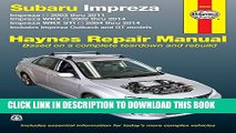 Collection Book Subaru Impreza 2002 thru 2011, Impreza WRX 2002 thru 2014, Impreza WRX STI 2004