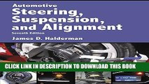 Collection Book Automotive Steering, Suspension   Alignment (7th Edition) (Automotive Systems Books)
