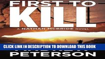[New] First to Kill (The Nathan McBride Series) Exclusive Full Ebook