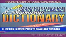 [PDF] The New Comprehensive American Rhyming Dictionary Full Online