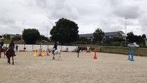 Démonstration de poney avec le centre équestre de Fleury-sur-Orne