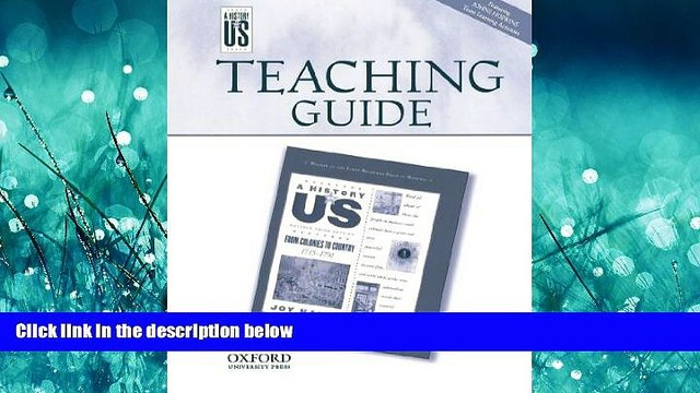 Choose Book Teaching Guide from Colonies to Country: Middle/High School Teaching Guide, A History