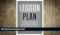 different   Lesson Plan: An Agenda for Change in American Higher Education