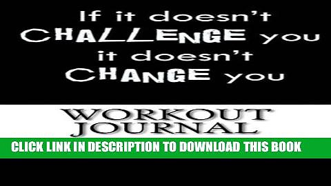 Collection Book Workout Journal: Workout Log Diary with Food   Exercise Journal: Workout Planner /