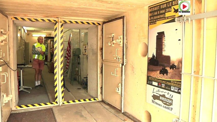 Plouharnel: Insolite visite du Bunker restauré au Bégo - TV Quiberon 24/7