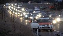 Bolu Akşam Saatlerinde Trafik Yoğunluğu Arttı