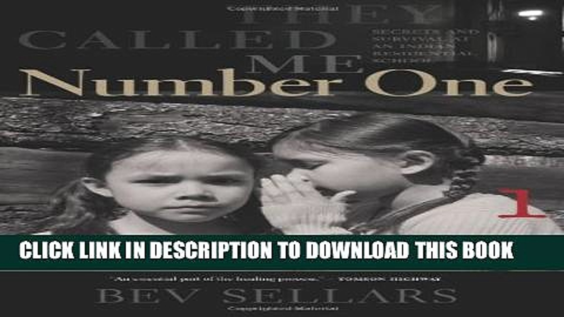 They Called Me Number One PDF Free Download