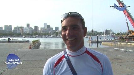 Damien Seguin - Médaille d'or voile régate 2.4 - Jeux paralympiques Rio 2016