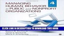 [PDF] Managing Human Behavior in Public and Nonprofit Organizations Full Online