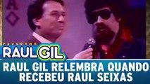 Raul Gil relembra quando recebeu Raul Seixas em seu programa