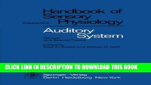 [Read PDF] Auditory System: Clinical and Special Topics (Handbook of Sensory Physiology) Download