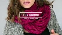 Elle tricote un foulard Infinity avec ses bras, sans crochets ni aiguilles Découvrez cette technique facile, parfaite pour les novices!