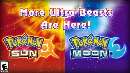 Pokémon Soleil et Lune : Les deux versions d'UB02