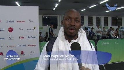 Jean-Baptiste Alaize - Finale saut en longueur T44 - 5ème - Jeux Paralympiques Rio 2016