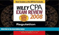 READ book  Wiley CPA Exam Review 2008: Regulation (Wiley CPA Examination Review: Regulation)