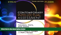 Big Deals  Contemporary Intellectual Assessment, Third Edition: Theories, Tests, and Issues  Best