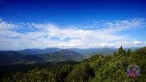 Timelapse sur le golf du Valinco depuis Foce à Sartene sur un panorama à couper le souffle en Corse
