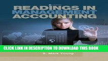 Collection Book Readings in Management Accounting (6th Edition)