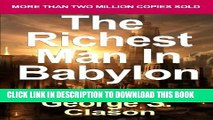 New Book The Richest Man in Babylon: Now Revised and Updated for the 21st Century (Paperback) -
