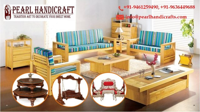 Wooden, Metal and silver Furniture for Home Decoration @ Pearl Handicrafts