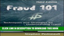 New Book Fraud 101: Techniques and Strategies for Understanding Fraud