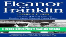 New Book Eleanor and Franklin  The Story of Their Relationship, based on Eleanor Roosevelt s