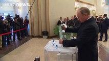Elecciones Rusia: el partido de Putín es el favorito en los sondeos