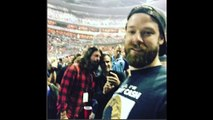 Dave Grohl & Axl Rose Friends Dave Grohl Attends AC-DC Concert in Washington DC
