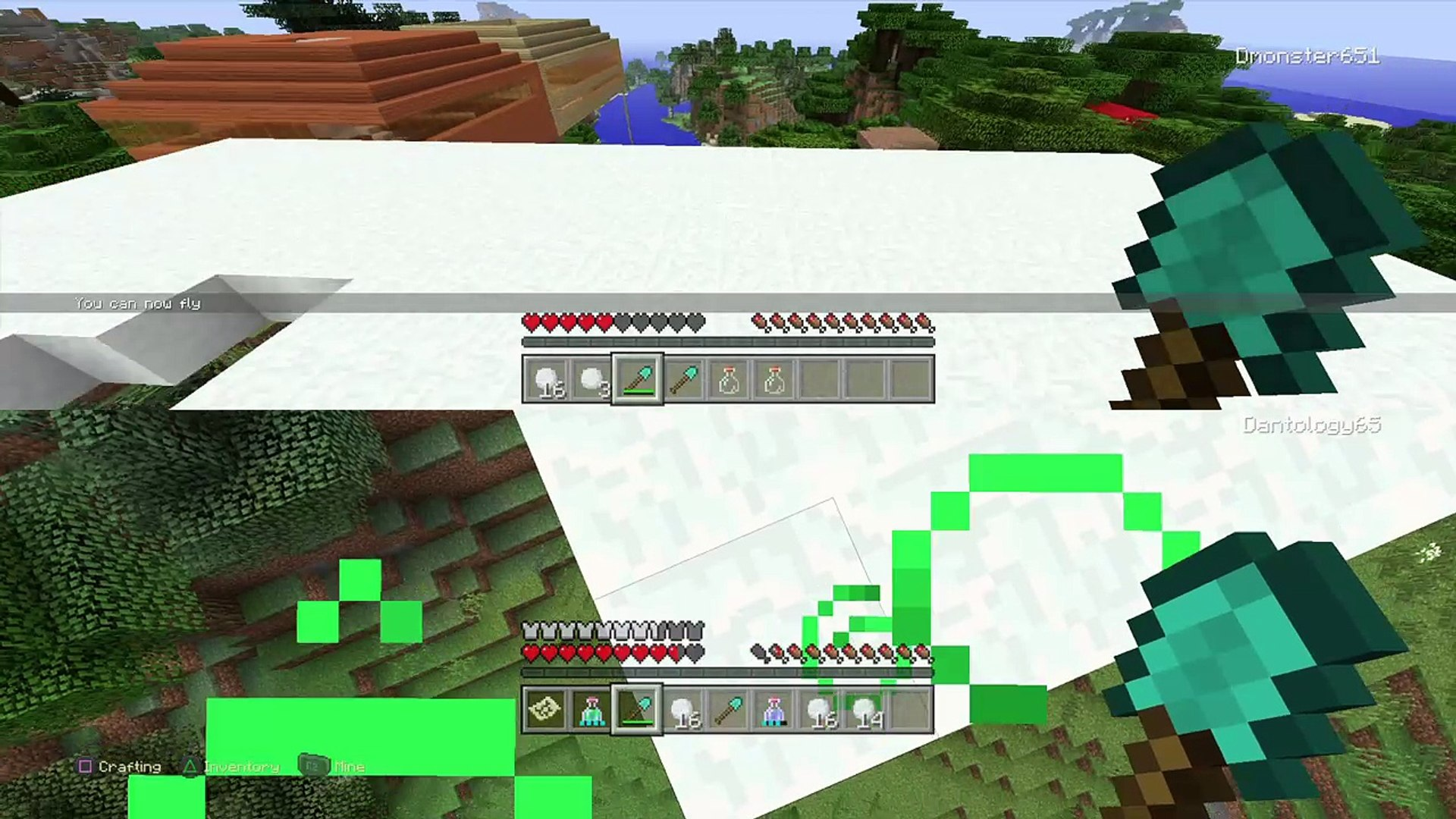 Minecraft discovery