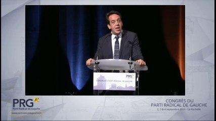 Congrès PRG 2016 - Discours de Guillaume Lacroix