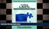 different   The PowerScore LSAT Deconstructed Series: Three LSATs Deconstructed