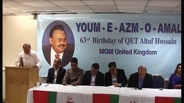 Founder and Leader MQM Mr. Altaf Hussain 63rd Birthday  Celebration in London