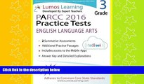 behold  Common Core Assessments and Online Workbooks: Grade 3 Language Arts and Literacy, PARCC