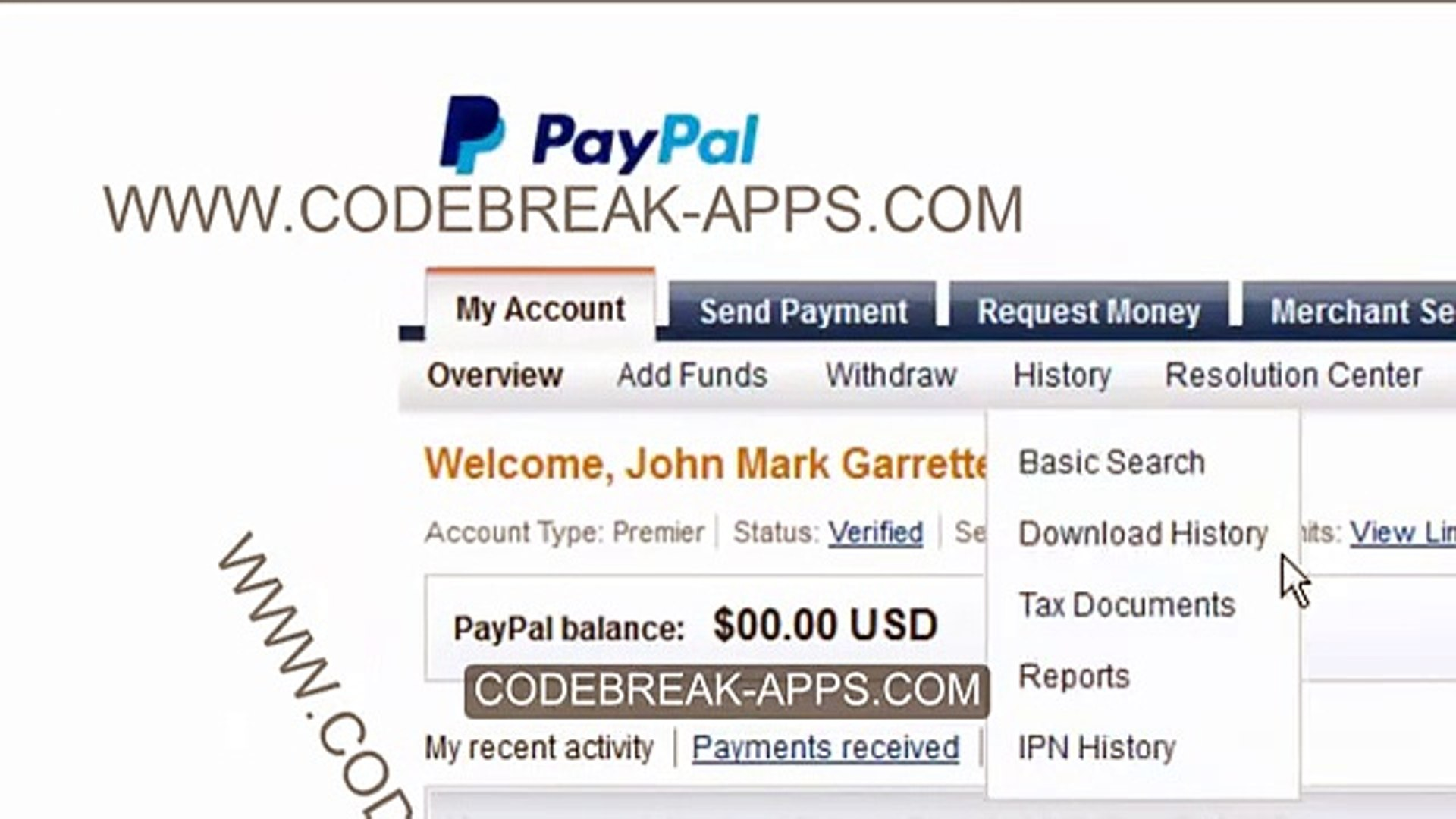 Get free money paypal