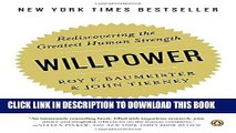 [PDF] Willpower: Rediscovering the Greatest Human Strength Full Colection