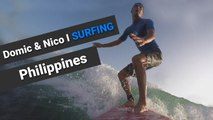 Dominic & Nico Surfing in Philippines